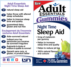 Adult Essentials Night Time Sleep Aid