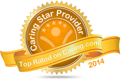 Caring.com 2014 badge