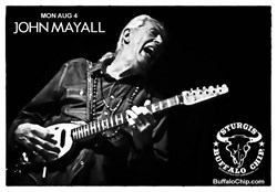 John Mayall Bring Blues Rock to Legendary Buffalo Chip