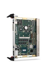 ADLINK's cPCI-6530 CompactPCI 4th generation Intel® Core™ i7 processor blade with two PMC/XMC sites