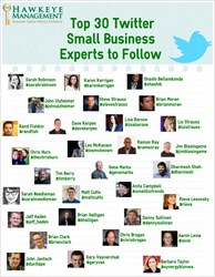 Top 30 Twitter Small Business Experts to Follow