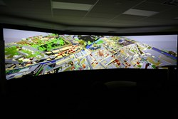 They are the ideal solution for immersive simulation displays like George Brown