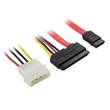 SATA 22P to SATA 7P+Power Cable