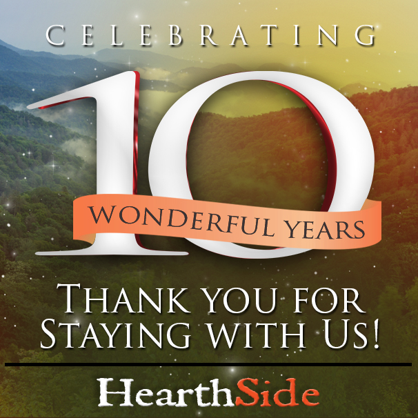Hearthside Cabin Rentals Celebrates 10 Year Anniversary As