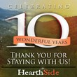 HearthSide Cabin Rentals Celebrates 10 Year Anniversary as Premier...