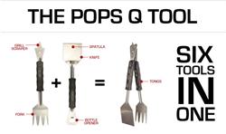 Pops Q Grilling Multi Tool