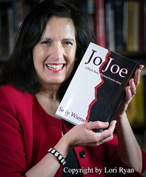 "Sally Wiener Grotta, author of the novel ""Jo Joe"""