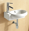 Ceramica CA4522 Bathroom Sink From Caracalla