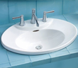 Pacifica Drop In Lavatory Sink From Toto