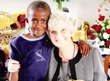 Mama Lynn (Lynn Gissing) with one of Light in Africa's children