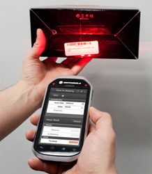 Wireless barcode scanning via the Motorola MC40 and other Android-based devices