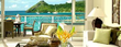 The Landings St. Lucia offers luxury suites with spectacular views.