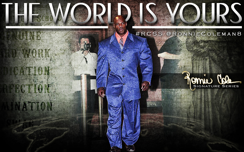 eight time mr  olympia ronnie coleman achieves recognition