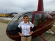 Whirly-Girl Madeline Von Bokel Awarded the Robinson Helicopter R22/R44...