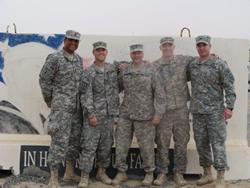 laugh staff, kuwait, deployed