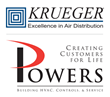 Krueger-HVAC Selects Powers of Arkansas as New Representative in Arkansas
