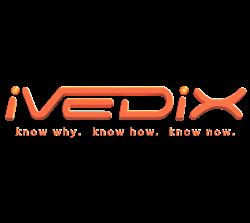 ivedix logo and tagline know why. know how. know now.