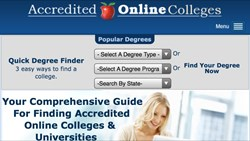 Accredited Online Colleges Mobile-friendly Website