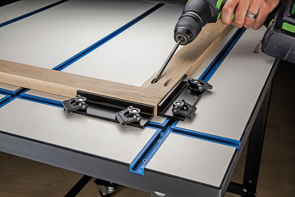 Rockler Adds New Stops To T Track System Adjustable Low