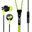 Zipbuds PRO Mic in Electric Yellow