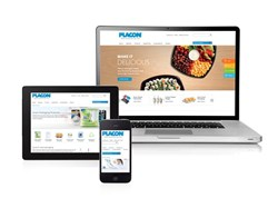 Placon, plastic food packaging, plastic clamshell, clamshell packaging, responsive website