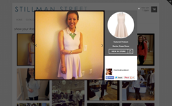 Highlight products on shoppable social hubs with lightbox and hover features.