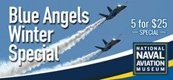 Blue Angels Winter Special at the National Naval Aviation Museum