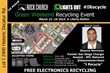 NFL Star Shawne Merriman/Lights Out Disposal Co. Announce 1st Annual Green Weekend Recycling Event -- Event Hosted by Rock Church/Lights Out Disposal at Liberty Station