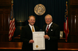 """Buy From Georiga Month"" Proclamation - Governor Deal and Jason Moss"
