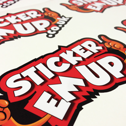 Premium Hi-Quality Stickers & Labels by StickerEmUp.co.uk