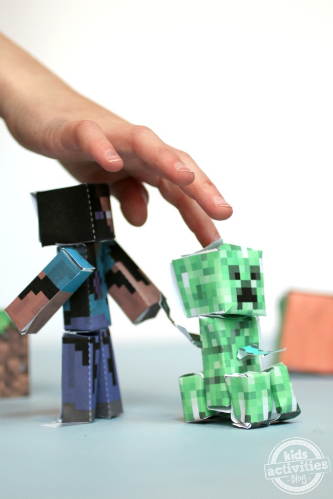 A Fun Minecraft Craft Has Been Published On Kids ...