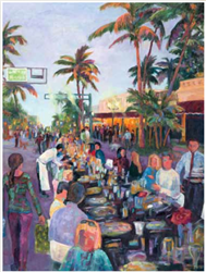 Patricia Maguire captures the magic of Savor The Avenue in Delray Beach