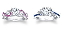 sapphire engagement rings by Barkev's