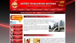 Astro Worldwide Movers