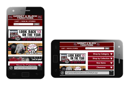 Garnet and Black Traditions Mobile Site