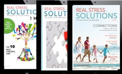 Real Stress Solutions, digital magazine, stress, stress management, stress tips, stress solutions,