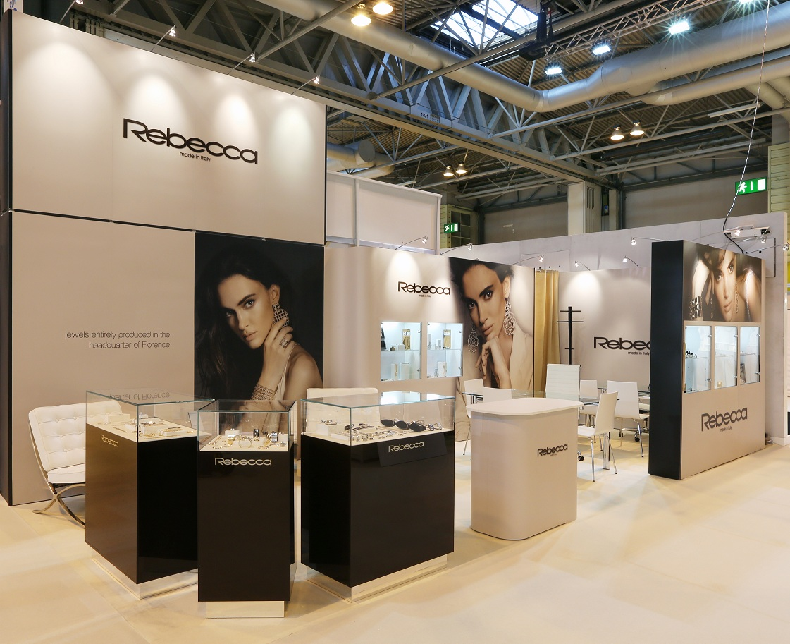 New Exhibition Stand Design : New market positioning strategy and website for