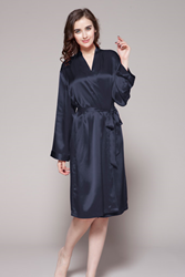 22mm silk robes for women
