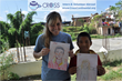 Cultural Immersion and Volunteer Abroad in Asia (Orphanage Work in Nepal) Doing Art Projects