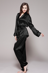 silk pajamas for women