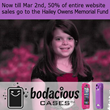 For 10 Days Bodacious Cases Will Give 50% of Entire Website of Their...