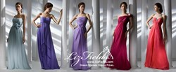 Liz Fields is now offering bridesmaid dresses, bridal gowns, and prom dresses in sizes 0-28