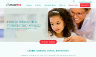 MusicFirst.com Homepage