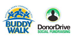 Buddy Walk DonorDrive logos