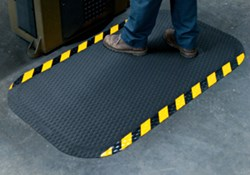 Hog Heaven cushioned anti-fatigue mats provide comfort and slip-resistance