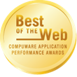 Compuware Best of the Web Gold Award