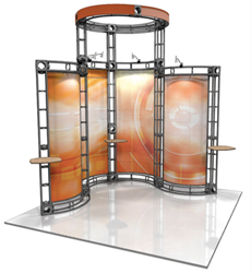 Custom Orbital Truss Trade Show Displays