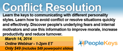 Conflict Webinar from PeopleKeys