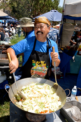 Indonesian food at Soka University's International Festival
