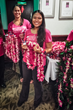 Hawaii Spring Break Visitors Plan Their Own Traditional Hawaiian Lei...